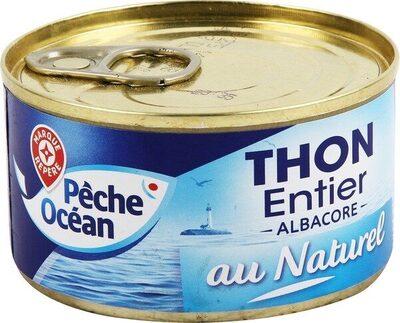 Thon entier au naturel Albacore - Product