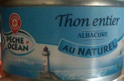 Thon entier au naturel Albacore - Prodotto - fr