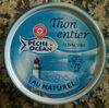 Thon entier albacore au naturel - Produit