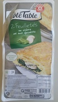 Feuilletés épinards et chèvre - Product - fr