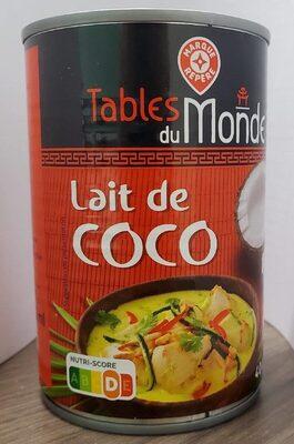 Lait de coco boite 1/2 - Producto - fr