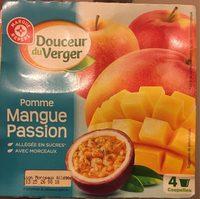 Compote allégée pomme mangue passion - Produit - fr