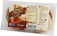 Muffins complets x 4 - Produit - fr
