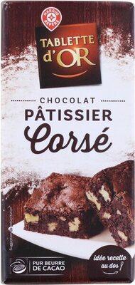 Chocolat dessert pâtissier corsé - Produit - fr