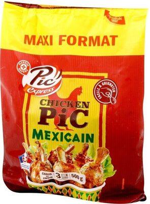 Manchons de poulet façon mexicain - Product - fr