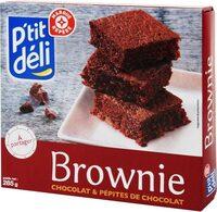 Brownie à partager chocolat pépites de chocolat - Produit
