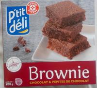 Brownie chocolat et pépites de chocolat - Produit