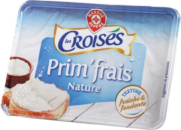 Fromage à tartiner nature 25% - Product - fr