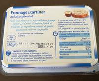 Fromage à tartiner nature 25% - Ingrediënten