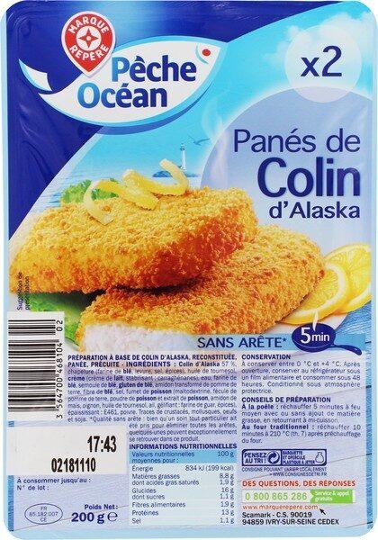 Panés de colin d'Alaska - Product