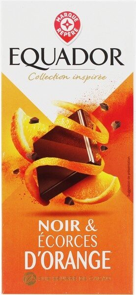 Chocolat noir écorces d'oranges - Product