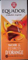 Chocolat noir écorces d'oranges - Producto - fr
