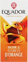 Chocolat noir écorces d'oranges - Produit - fr