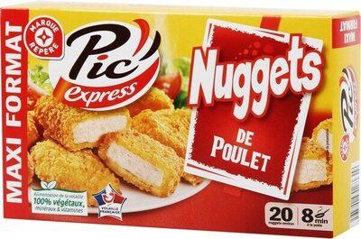 Nuggets de poulet X20 - Product - fr