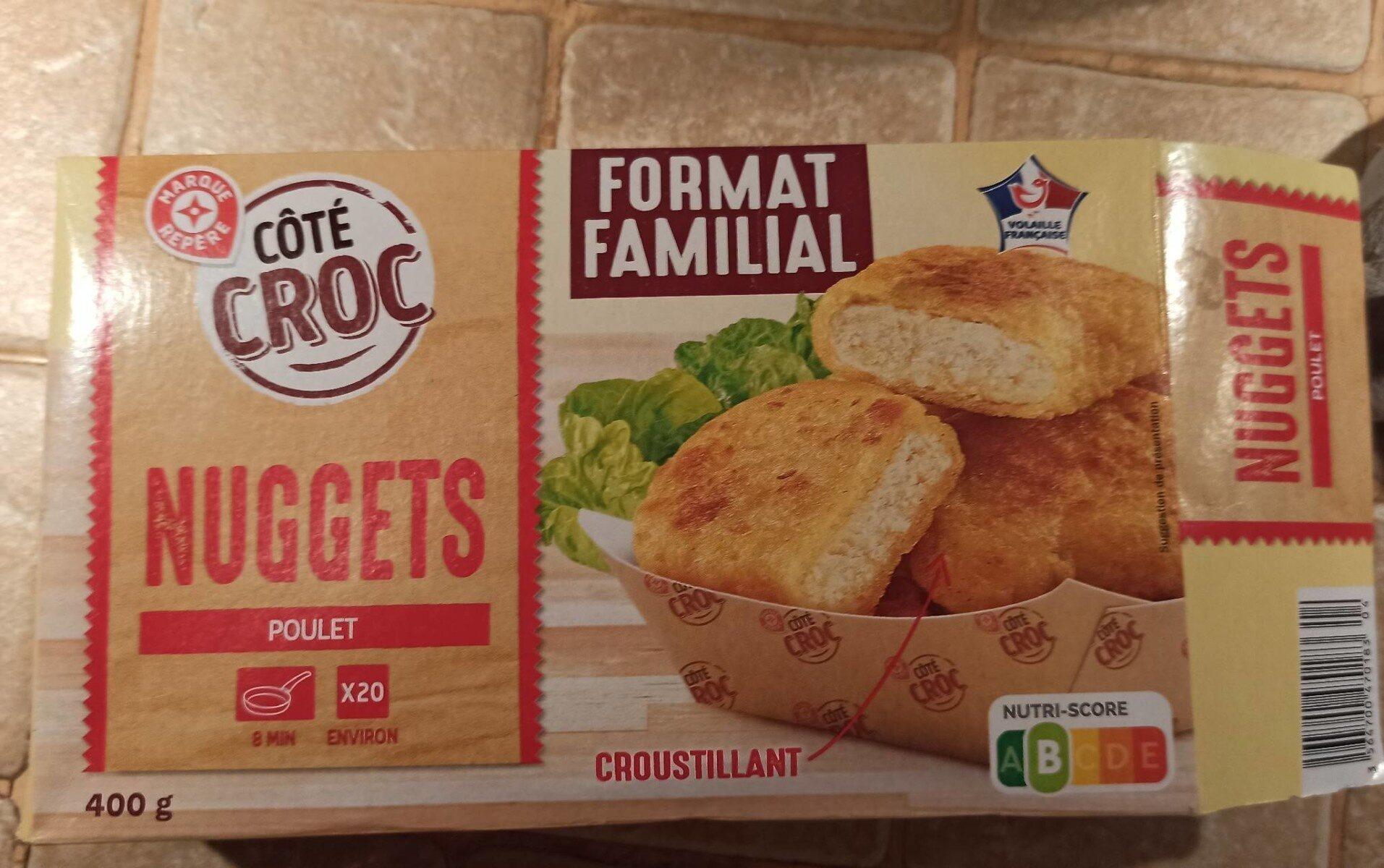 Nuggets de poulet X20 - Voedingswaarden - fr