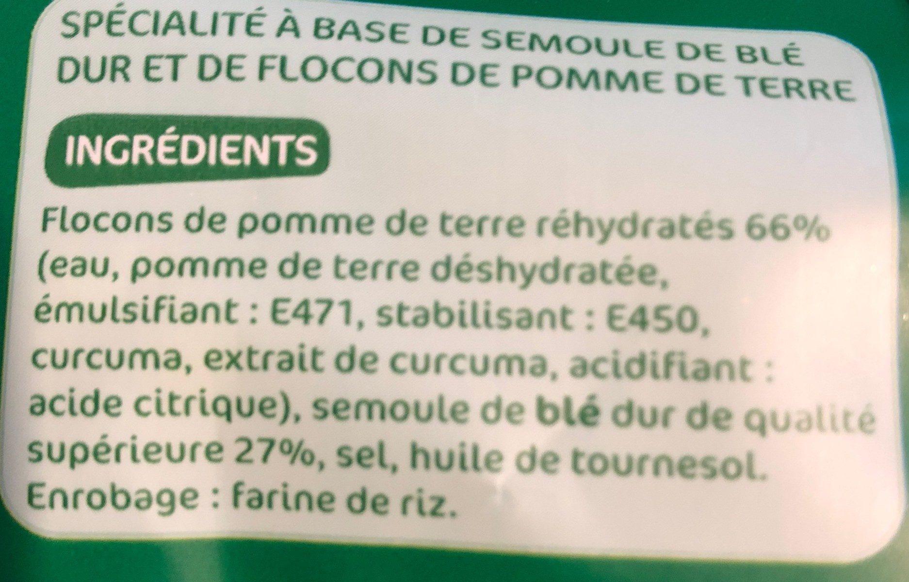 Gnocchi à poêler - Ingrediënten - fr