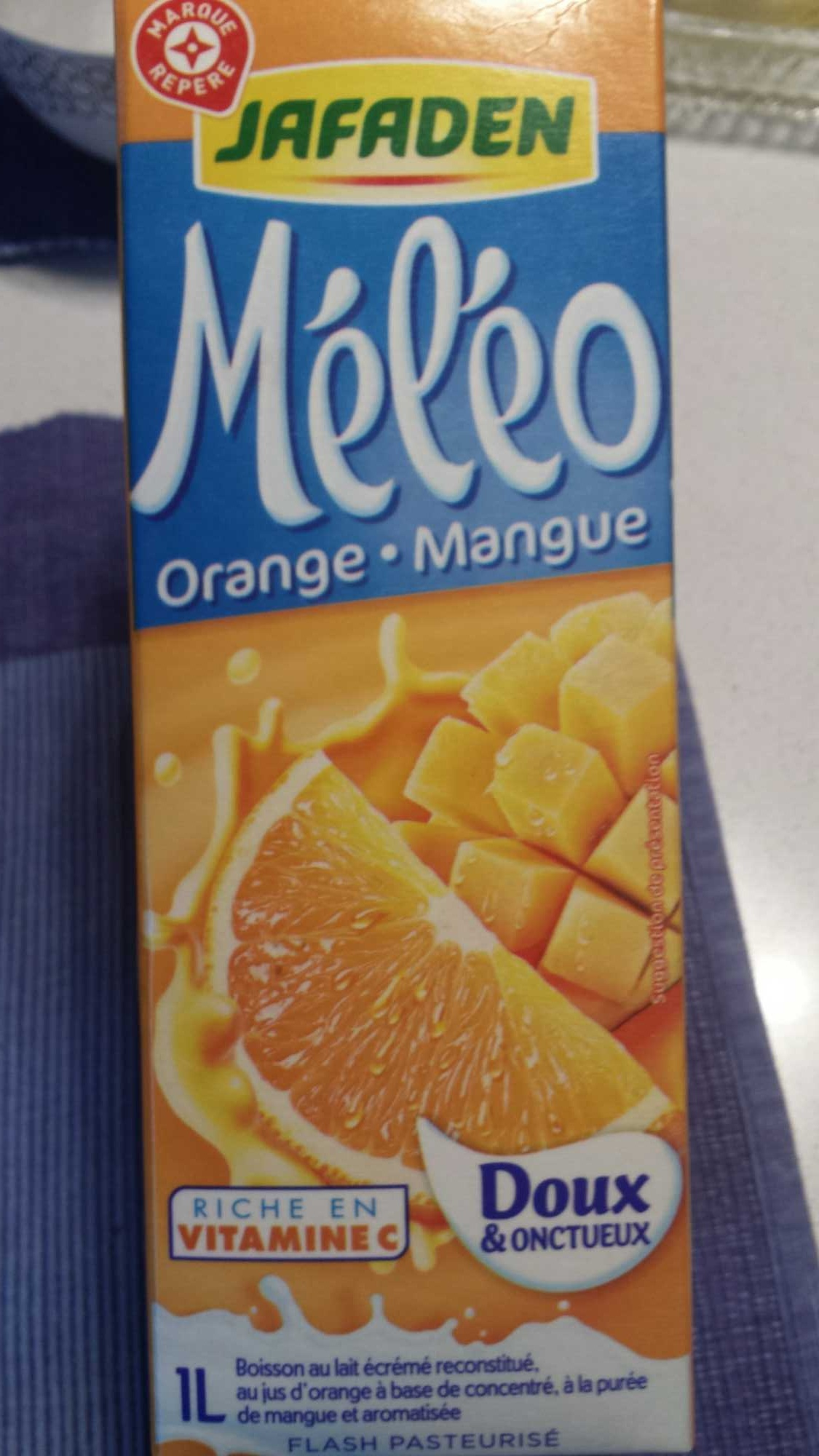 Méléo orange-mangue - Produit