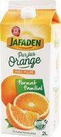 Pur jus d'orange de Floride réfrigéré - brique - Produit - fr