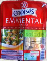Emmental en dés spécial salade (28 % MG) - Product - fr