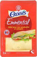 Emmental tranchettes - Produit - fr