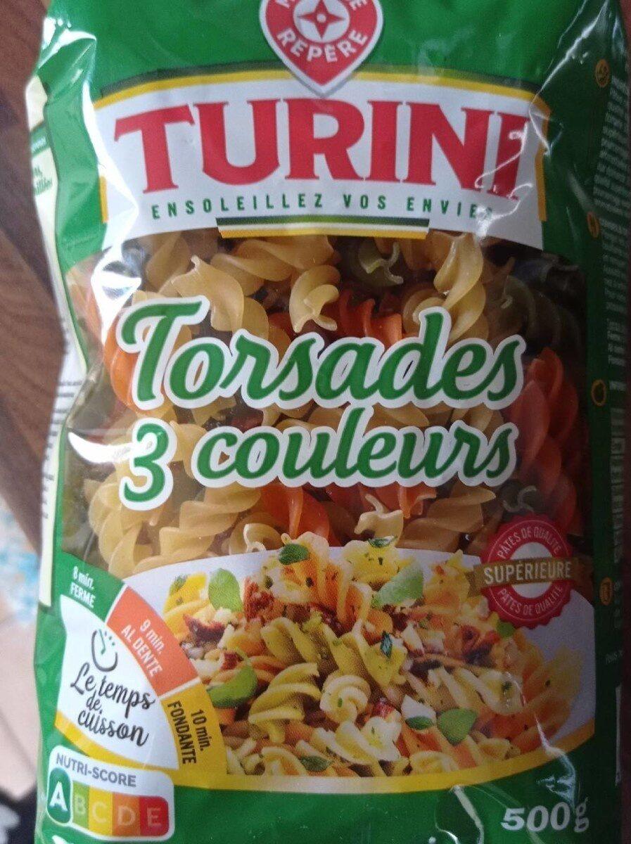 Torsades tricolores (natures, tomates, épinards) - Produit - fr
