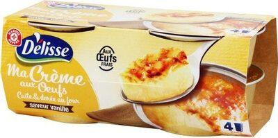 Crème oeufs vanille - Produit