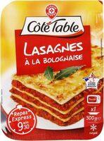 Lasagnes bolognaise surgelées - Produit - fr