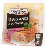 Friands à la viande - Product - fr