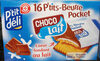 Petit beurre pocket choco-lait x 16 - Product