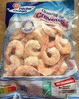 Queues de crevettes cuites sachet - Product - fr