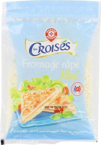 Fromage allégé 15%mg rapé - Produit - fr