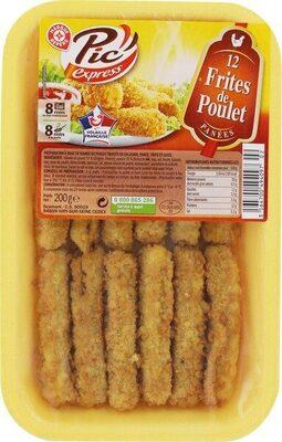 Frites de poulet panées x 12 - Product