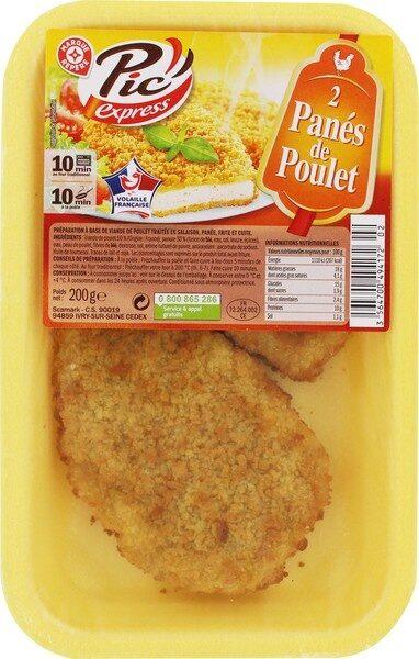 Panés de poulet x 2 - Product