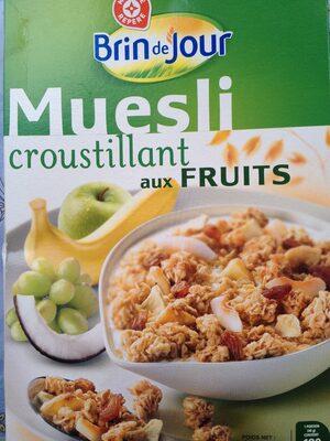 Muesli - Croustillant aux fruits - Produit - fr