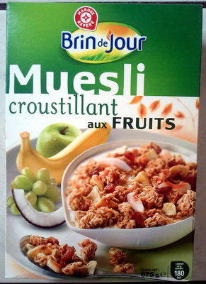 Muesli Croustillant aux fruits - Product