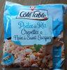 Poelee st jacques Cote Table Riz crevettes - Product
