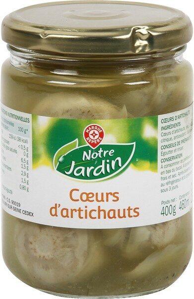 Coeurs d'artichauts - Produit - fr