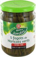 Fagots haricots verts extra fins x 5 - Produit - fr