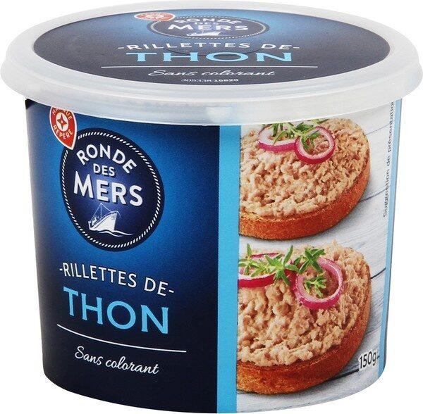 Rillettes de thon - Produit - fr