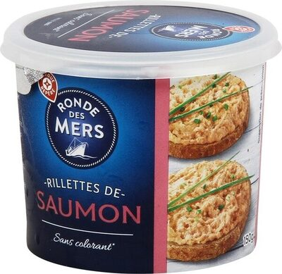 Rillettes saumon - Produit - fr