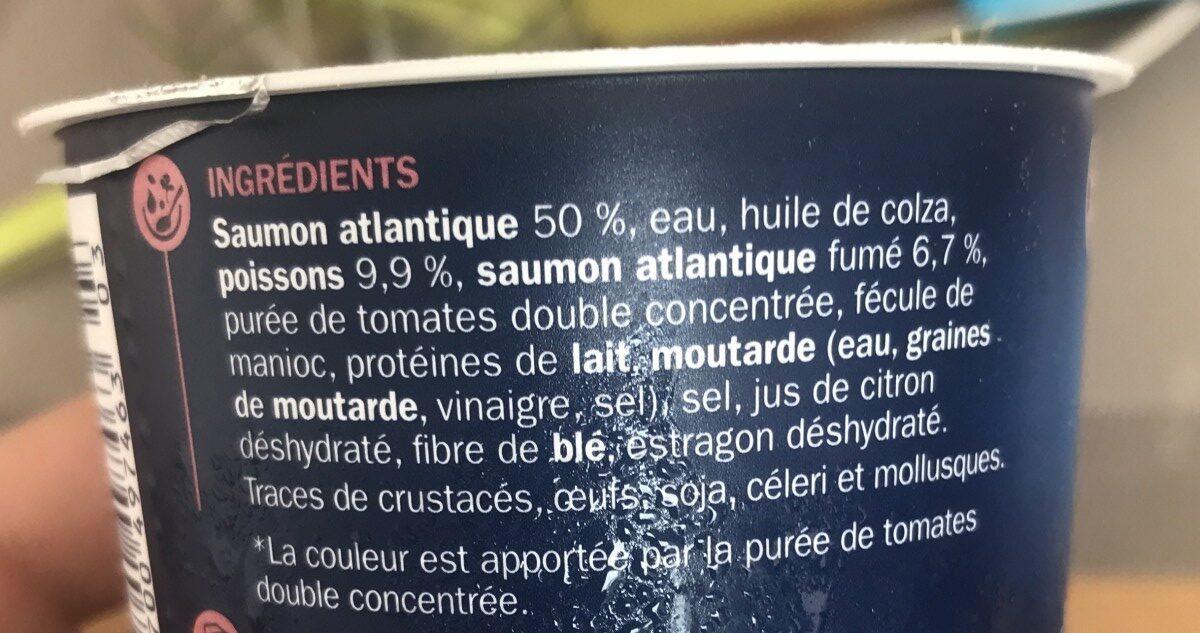 Rillettes saumon - Ingrédients - fr