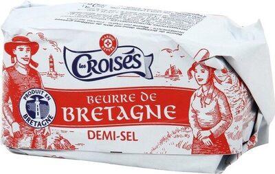Beurre de Bretagne demi-sel 80% Mat. Gr. - Produit