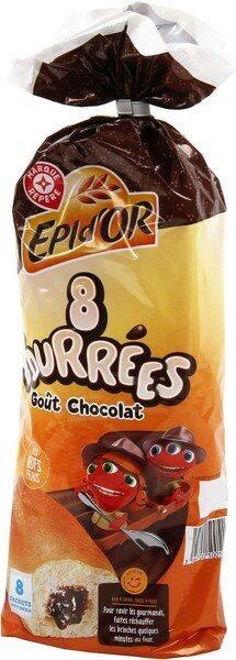 Brioches fourrées au chocolat x 8 - Product - fr