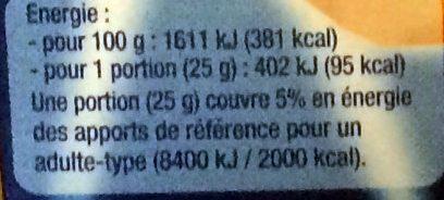 Mini céréales x 8 - Nutrition facts - fr