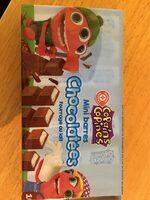 Mini-barres chocolatées fourrées au lait x 16 - Informations nutritionnelles - fr
