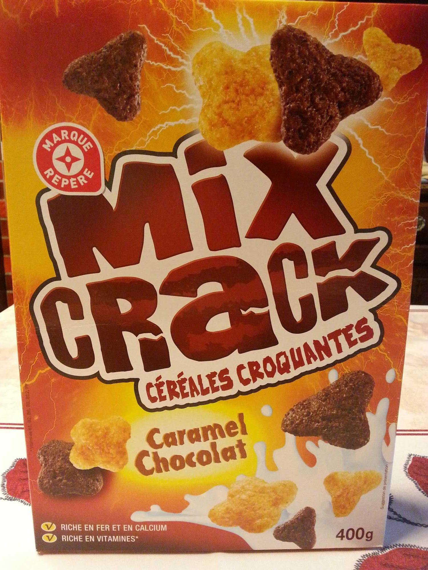 Mix Crack - Céréales croquantes - Produit - fr