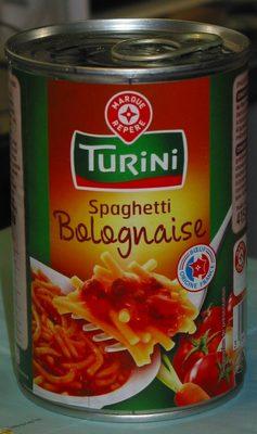 Spaghetti à la bolognaise - Produit - fr
