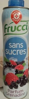 Frucci - Sans sucres Parfum Grenadine - Product - fr