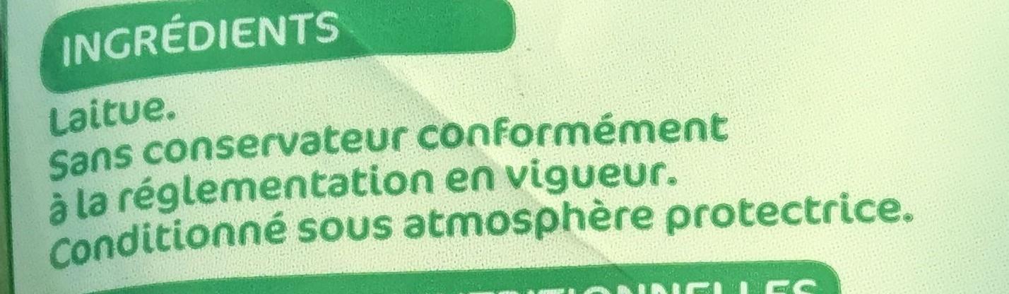 Coeurs de laitue - Ingrédients - fr