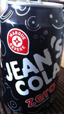 Jean's cola zero - Product